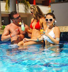 Make new friends at Temptation Resort Spa